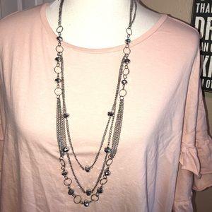 Jewelry - Super sparkly Multi Strand Necklace 💖